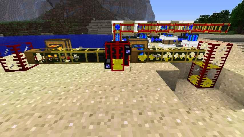 как в моде майнкрафт bk factory взять топливо из нефтеперегонной вышки #3