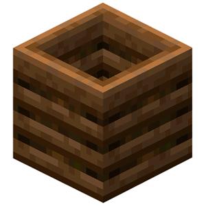 Иконка компостер Minecraft