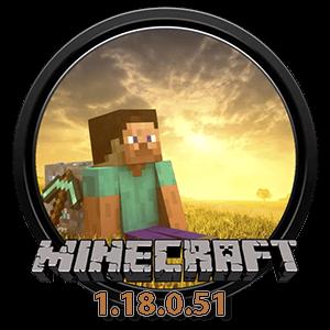 Иконка Minecraft 1.18.0.51