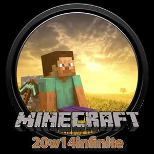 Иконка Minecraft PE 20w14infinite