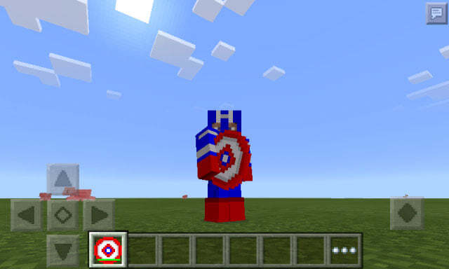 Мод на супергероев Marvel для MCPE 0.14.0