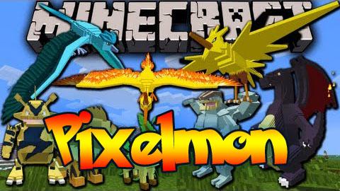 Скачать Pixelmon для Майнкрафт