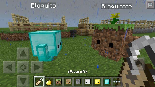 Мод на защитников (Blokkit) для Minecraft PE 0.14.0