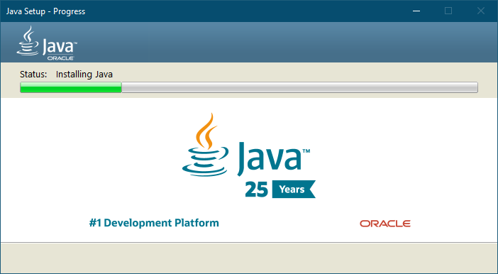Установка Java для ПК