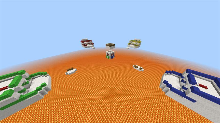 Карты Бед Варс (BedWars) для Minecraft PE
