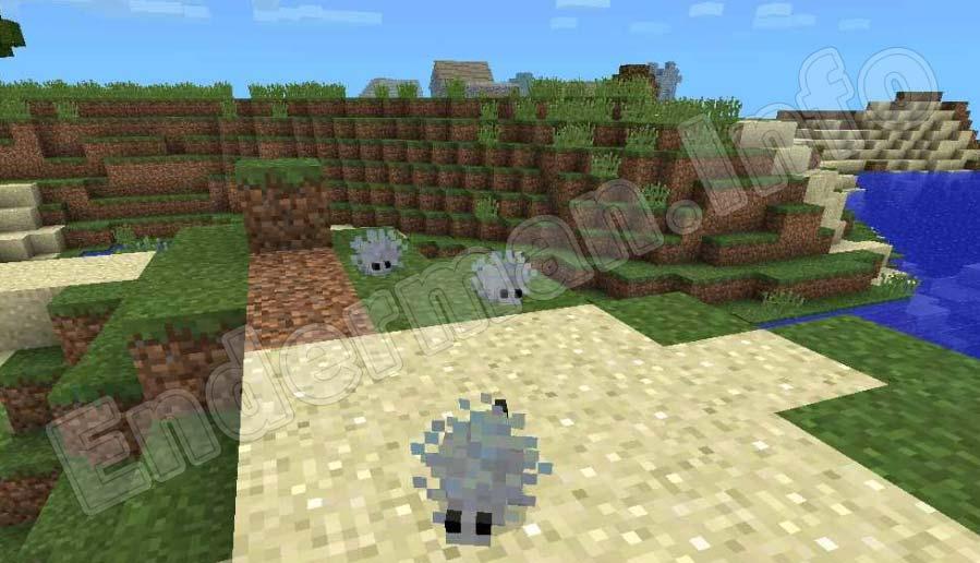 Чешуйница Minecraft PE