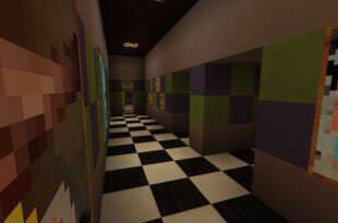Карта Five Nights at Freddy 2 для MCPE 0.14.x