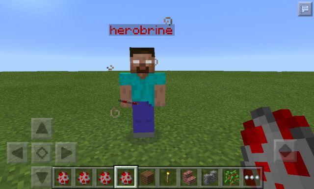 Херобрин для MCPE 0.14.0