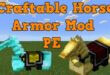 Броня для лошадей MCPE 0.15.1