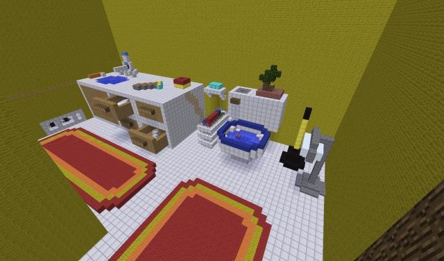 Мебель в MCPE 0.14.1