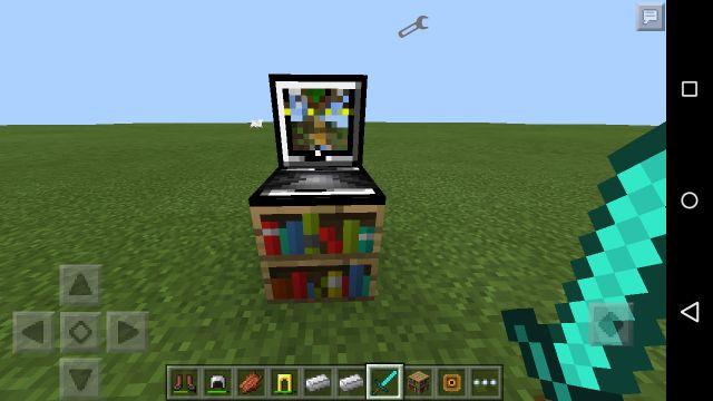 Мод на ноутбук MCPE 0.14.0