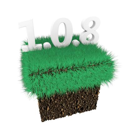 Лого Minecraft PE 1.0.8