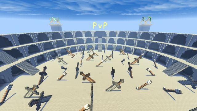 PVP карта Genesis Arena
