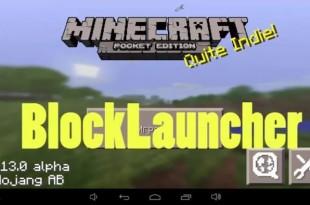 BlockLauncher PRO для MCPE 0.14.0
