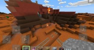 Сид на биом Mesa для Minecraft PE 0.14.0