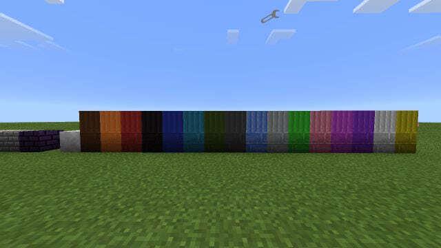 Мод на декоративные блоки MCPE 0.14.0