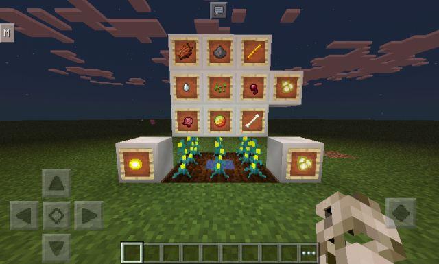 Мод на урожайность для Minecraft PE 0.14.0