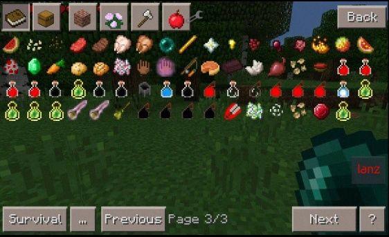 Скачать мод на чары для Minecraft PE 0.14.0