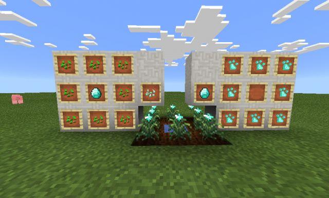 Мод на урожай из руды MCPE 0.14.0