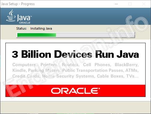 Скачивание Java при установке