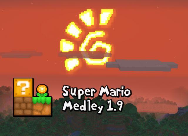 Текстурпак Super Mario Medley для Minecraft PE 0.14.0