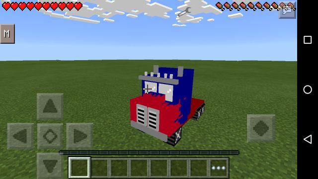 Мод на трансформеров для Minecraft PE 0.14.1
