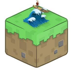 Цунами-Minecraft